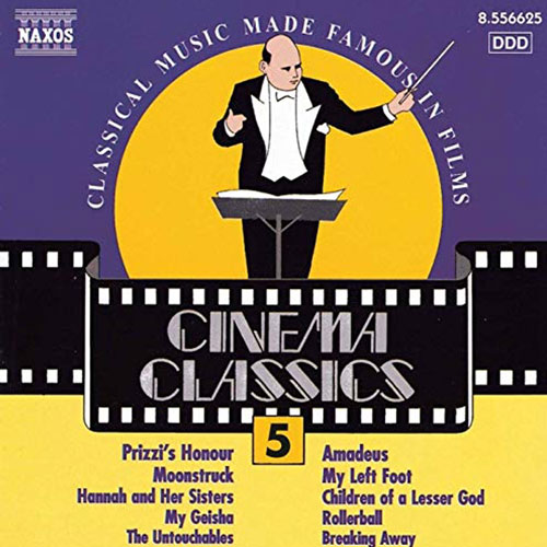 Cinema Classics Vol 5 Album Cover