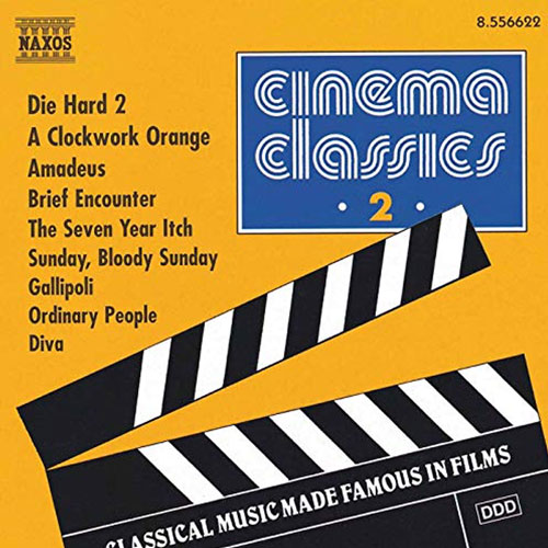 Cinema Classics Vol2 Album Cover