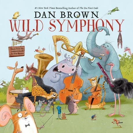 Dan Brown Wild Symphony - Album Cover