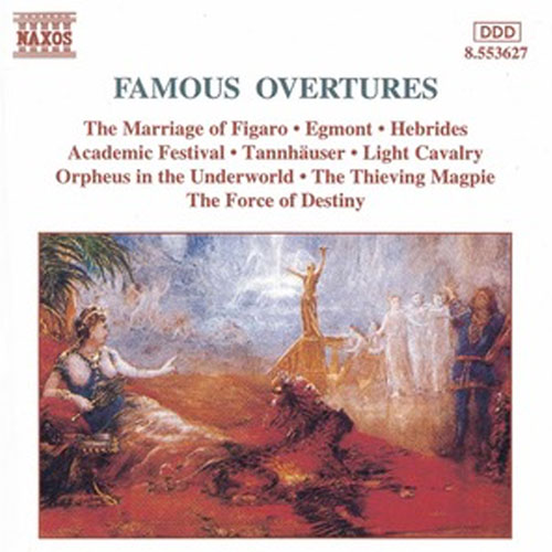 Famous Overtures Album Cover