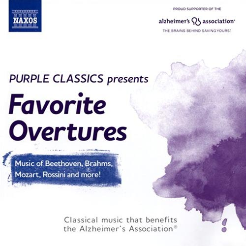 Favorite Overtures Album Cover