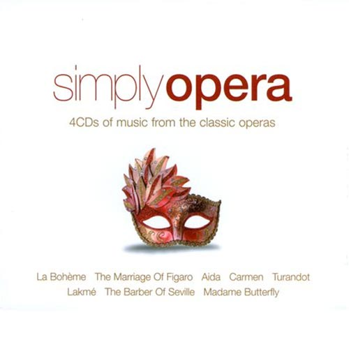 Simply Opera Album Cover