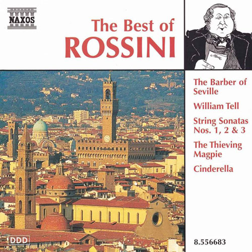 The Best of Rossini Album Cover