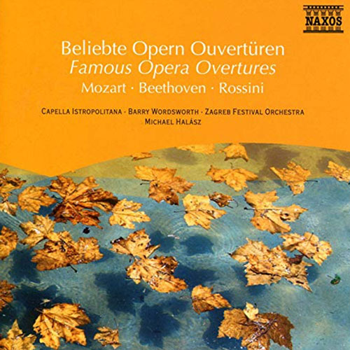 Famous Opera Overtures Album Cover