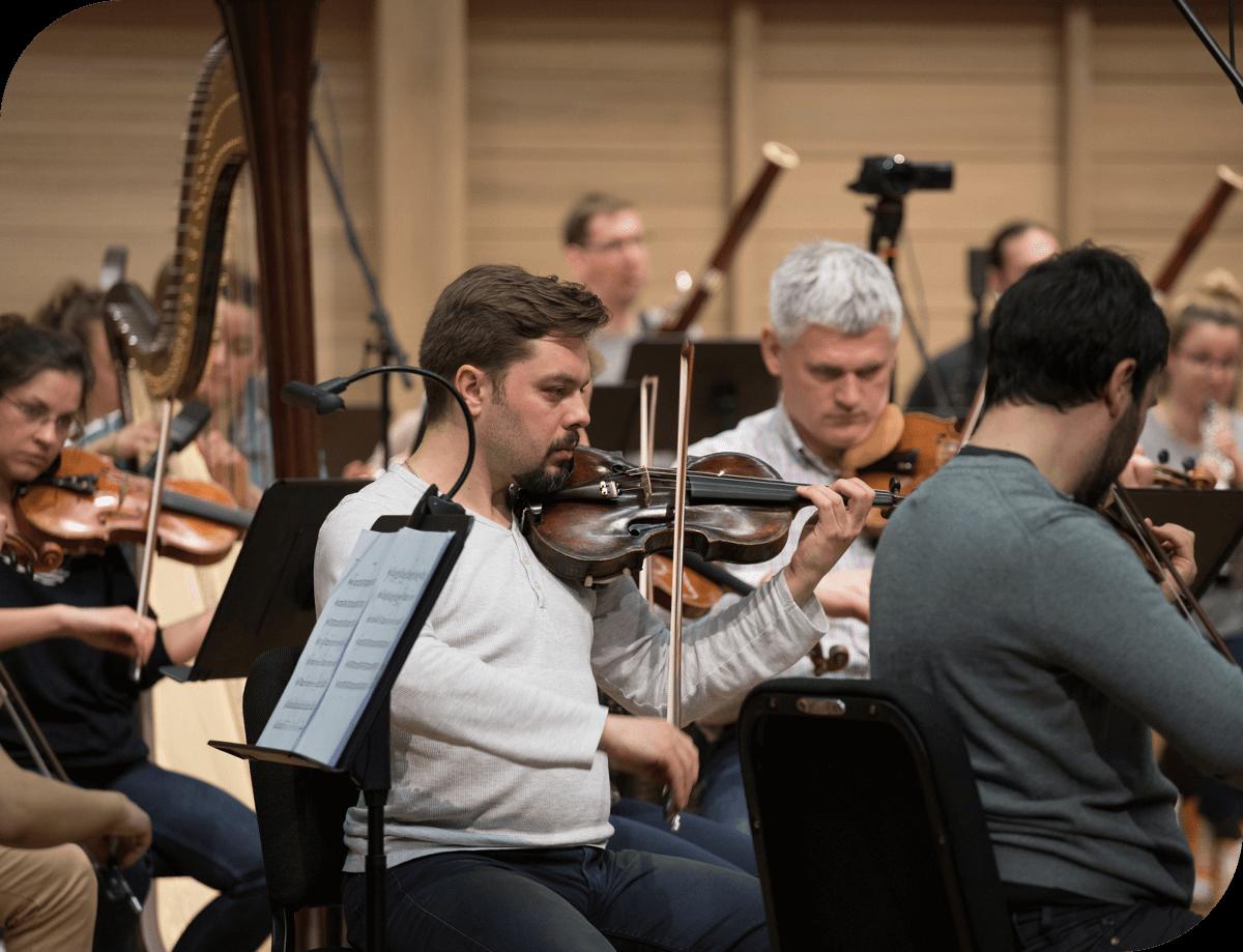 Zagreb Festival Orchestra Violins
